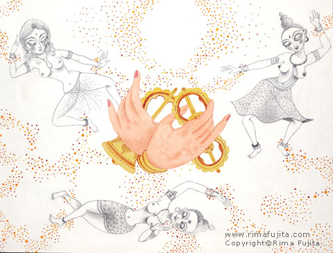 Dakinis and Mudra / ダキニ女神とムードラ