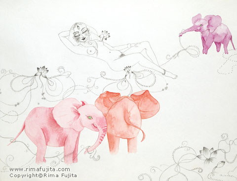 Pink Elephants / ピンクエレファント
