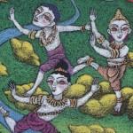 Brahma,Vishnu,Shiva / ブラマ、ヴィシュヌ、シヴァ神