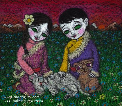 Stray Snow Leopard / 迷子の雪豹